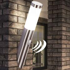 ACIER INOX extérieur Mur Spot Détecteur Lampe Luminaire Éclairage VERANDA balcon