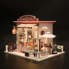 DIY Miniatur Puppenhaus Kakao Whimsy Ohne Staubabdeckung Studio Kinder Spielzeug