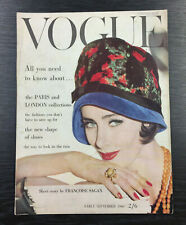 VOGUE Magazine Early September 1960