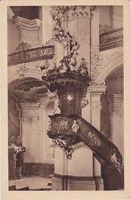 uralte AK, Grüssau (Krzeszów), Kanzel in der Abteikirche