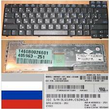 TECLADO QWERTY RUSO HP NC6110 NX6120 405963-251, NSK-C6A0R, 9J.N7182.A0R Negro