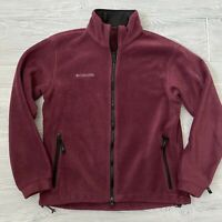 Columbia Titanium Fleece Jacket Womens Size Small