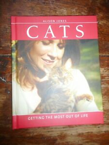 Cats Getting The Most Out Of Life Alison Jones Hardback Book