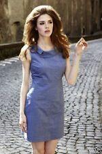 Knee Length Retro Dresses for Women's Shift Dresses