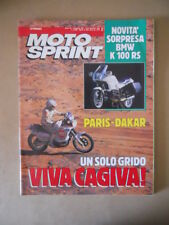 MOTOSPRINT n°2 1990 PARIS DAKAR - BMW K 100 RS  [MS9]
