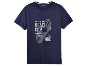 Herren T-Shirt Shirt Kurzarm Freizeitshirt Livergy Neu (R25)