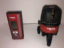 Hilti Pm 4-M & Pma 31 (Laser and Receiver Bundle) Good Condition