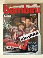 VOGUE BAMBINI July/Aug 2011 International Children's Fashion Italy NEW & SEALED