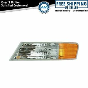 Parking Light Turn Signal Lamp Front Driver Side Left LH for 07-17 Jeep Patriot
