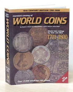 Numismatica - Standard Catalog of World Coins - 1701-1800 - ed. 1997