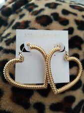 Stella & Ruby Gold Heart Earings