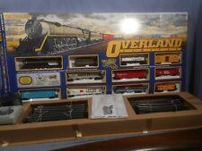 Bachmann HO Overland Limited train set 4-8-4 Steam Locomotive #806 Smoke & Light