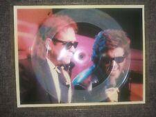 Picture Disc Vinyl Record Import Elton John With George Michaels 1985 Pop Rock