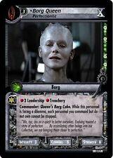 Star Trek CCG 2E Tenth Anniversary Promo Borg Queen, Perfectionist FOIL 0P7