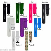 22mm Sports Silicone Watch Band Strap for Moto 360 2nd Men's / ASUS Zen Watch 2