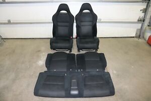 Rare 2005-2006 ACURA RSX Front & Rear Cloth Seats  / SRS Airbag / DC5 integra