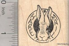 Hare Mail Bunny rubber stamp E11619 WM