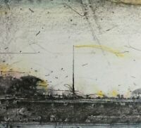 Sascha JURITZ (1939-2003)  Farblithographie ca 1970: GEGEND No 498 - SÜDWEST -