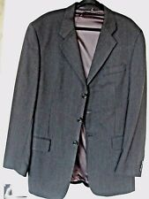 Authentic Pierre Cardin Classic Collection Black Jacket.Pure New Wool.Size Large