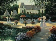 Luncheon In The country Print By Christa Kieffer