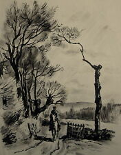 Original-Lithographien (1950-1999) mit Landschafts-Motiv
