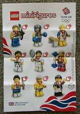 Brand new Lego Team GB Olympic Minifigure checklist from 2012