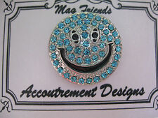 Accoutrement Designs Blue Happy Face Smiley Needle Minder Magnet Mag Friends