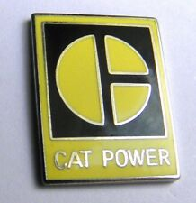 CAT POWER CATERPILLAR TRUCKS HEAVY EQUIPMENT LAPEL PIN BADGE 1 INCH