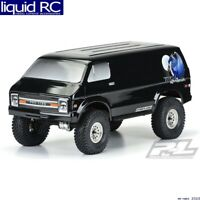 Pro-Line 3552-18 70 s Rock Van Black Body for 12.3 WB Crawlers