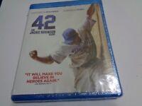 42 The Jackie Robinson Story NEW SEALED Blu Ray Chadwick Boseman E1