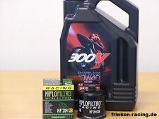 Motul Öl 300V 10W40 / Racing - Ölfilter Honda CBR1000 RR Fireblade Bj 04 - 16