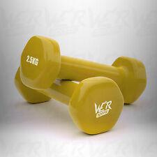 Vinyl Dumbbell Set Ladies Aerobic Training Weights Strength Training Home Gym