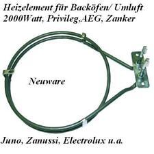 7164R481 2000W 230V Heißluftheizung Backofen Umluft AEG Privileg Heizspirale