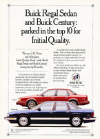 1993 Buick Regal Century - JD Quality - Classic Vintage Advertisement Ad D05