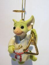 Pocket Dragon Ding Ding Triangle Ornament by Real Musgrave, New in Original Box