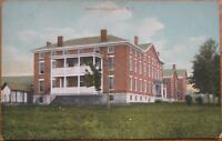 1910 NY Postcard - The County Home - Lowville, New York