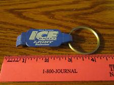 Budweiser Beer Ice Draft Light Key Ring Opener Key Fob Keychain FREE SHIP