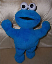 """Nice Cookie Monster Plush 11"""" Tall with arms opened wide ready for a hug"""