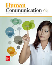 Human Communication 6th Edition (Pdf Format Only)