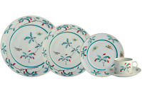 MOTTAHEDEH FAMILLE VERTE 5 PIECE PLACE SETTING 4609