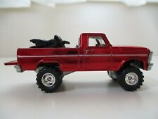 HOT WHEELS CLASSICS - LIFTED FORD F-100 PICKUP TEXAS DRIVE 'EM - REAL RIDERS