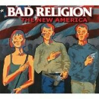 """BAD RELIGION """"THE NEW AMERICA"""" CD RE-RELEASE NEW+"""