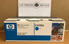 C4192A - Genuine HP Laserjet Cyan Toner Cartridge for 4500 / 4550 Series