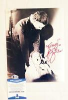 PJ SOLES SIGNED LYNDA 8X10 METALLIC PHOTO HALLOWEEN 1978 BECKETT BAS COA 051