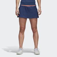 adidas Wmns Tennis Club Skirt NEW women CE0377 navy white peach