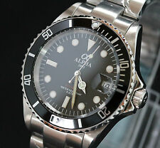 Alpha Submariner Diver automatic men's watch