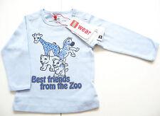 LA Shirt Gr.74 Lego Wear NEU m.E 100% Baumwolle bio Zootiere blau duplo baby