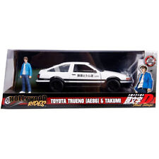 Jada Initial D First Stage Toyota Trueno AE 86 with Takumi Figure 1:24 99733