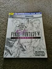 Final Fantasy V Advance GBA Official Player's Guide by Nintendo Power 5