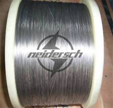 Diameter 1mm, Length 5m=16.5 Foot,99.95% Nickel Ni Metal Wire